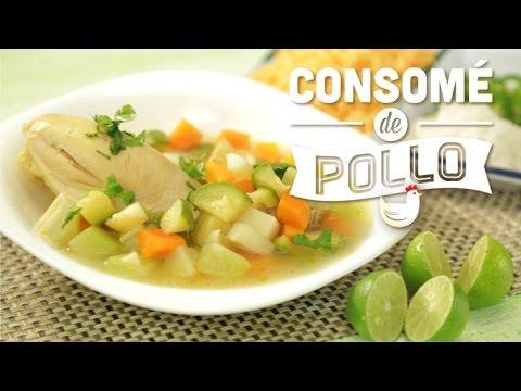 ¿Cómo preparar Consomé de Pollo? - Cocina Fresca