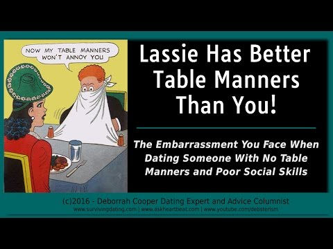 Dating Tips #12 - How Bad Table Manners Impact Relationships