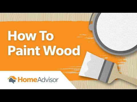 How to Paint Wood | Tips for Painting over Wood