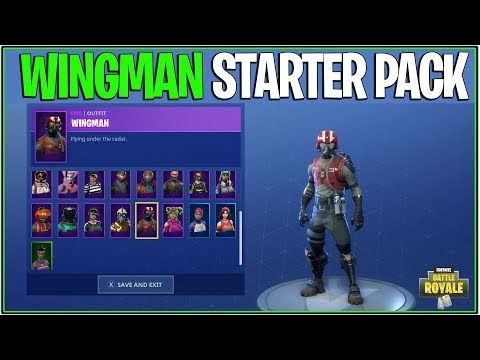 *NEW* Fortnite: WING MAN STARTER PACK IS HERE! | (Officially Released and Showcase)