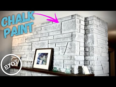 BYOT #5 - DIY: Fireplace Refinishing
