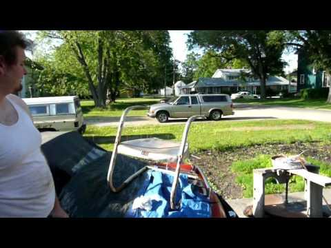 Refinishing a Metal Lawn Chair
