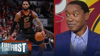 Isiah Thomas joins Nick and Cris to talk M.J. vs LeBron, Kyrie