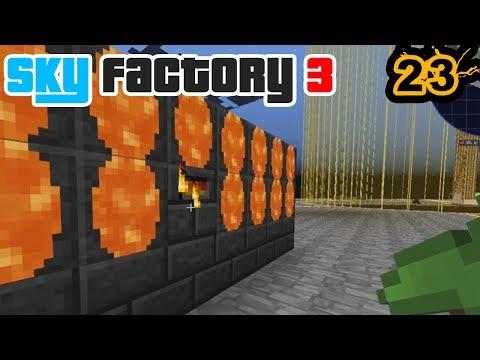 Tinkers, Lava, & A Uranium Chicken | Minecraft: New Sky Factory 3 Ep. 23