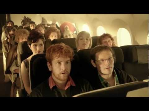 An Unexpected Briefing #AirNZSafetyVideo