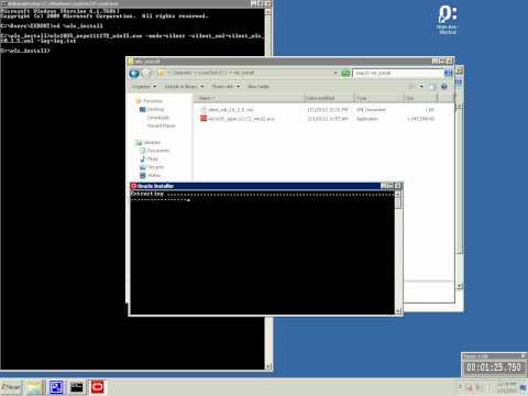 Oracle Weblogic Server - Silent Installations