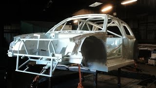 VolksWagen Golf Mk3 RWD Race Car Volvo T5 Engine Swap Project - getplaypk