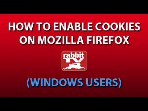 How to Enable Cookies on Firefox (Windows Users)