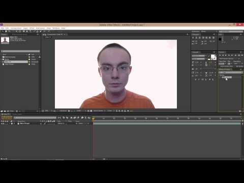 AFTER EFFECTS: Luma Key, White Screen, Video Backgrounds