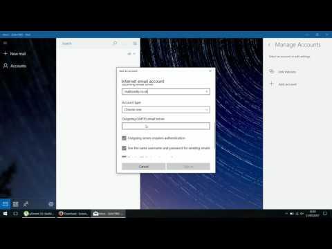 How to setup Easily.co.uk mail on Windows Live Mail