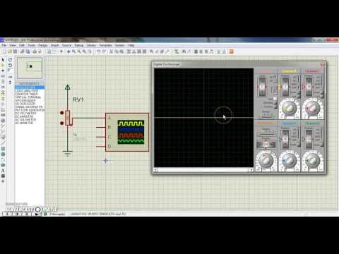 Tutorial : How to use Oscilloscope in Proteus?