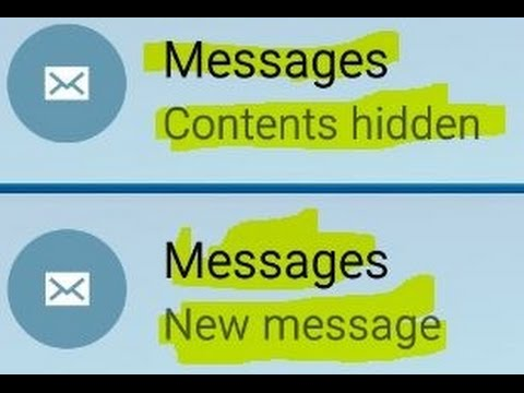 How to show notification
