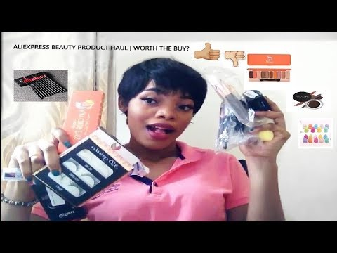 Aliexpress Makeup and Beauty Product Haul | Worth the Buy? | GoldQueen Queency