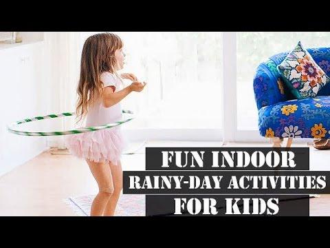 Fun indoor Rainy-Day Activities for Kids!