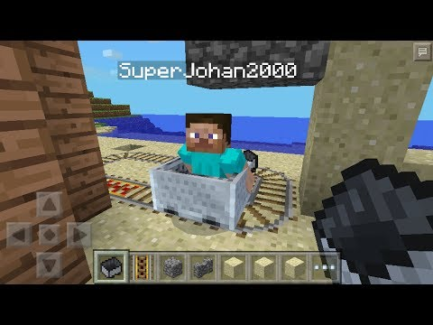 New Features in Minecraft Pocket Edition Update 0.8.0 - Minecarts, New Creative Inventory, Etc.!