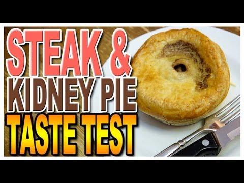 British Imports at Sweets Instore Steak & Kidney Pie Taste Test