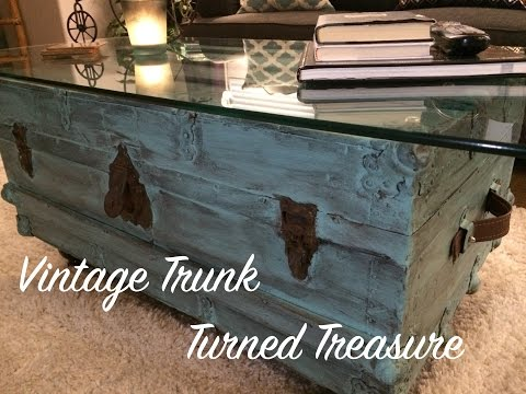 Vintage Trunk Turned Treasure