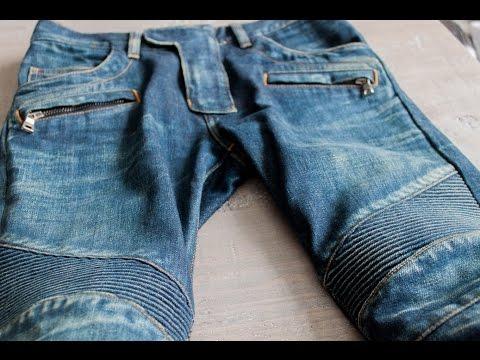 Balmain ribbed biker jeans- Felix Fashion Reviews