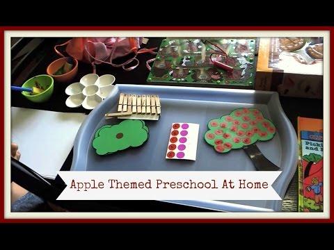 Preschool At Home | Apple Activities