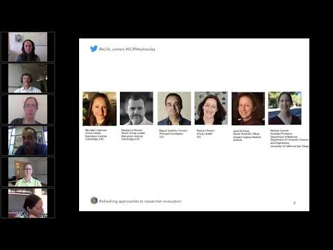 eLife Community Webinar Series – Refreshing approaches to researcher evaluation