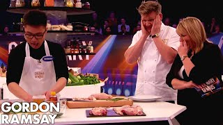 Nervous Chef Desperate to