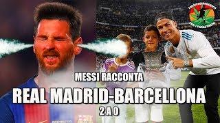 Messi commenta Real Madrid-Barcellona [2-0] #supercoppanfaccia