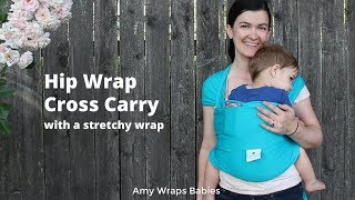 ef2c803d6c7 What else can a stretchy wrap do  Hip Wrap Cross Carry with a twist in a  Joey Wrap