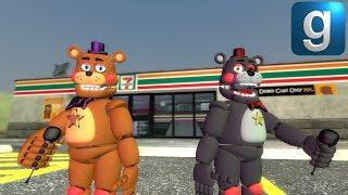 Gmod FNAF | Brand New Nightmare Animatronics! - The Most