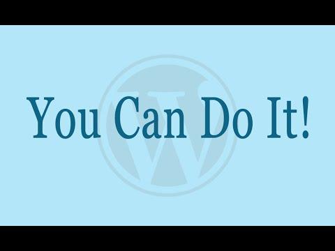 How To Make a WordPress Blog (WordPress.org Tutorial)