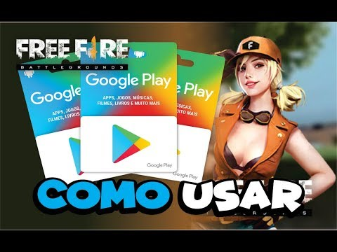 👉FREE FIRE COMO USAR CARTÃO GOOGLE PLAY / GIFT CARD NO JOGO E COMPRAR DIAMANTES