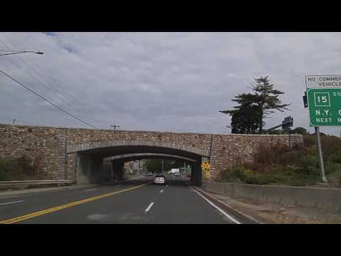 Driving from New Caanan to Norwalk,Connecticut