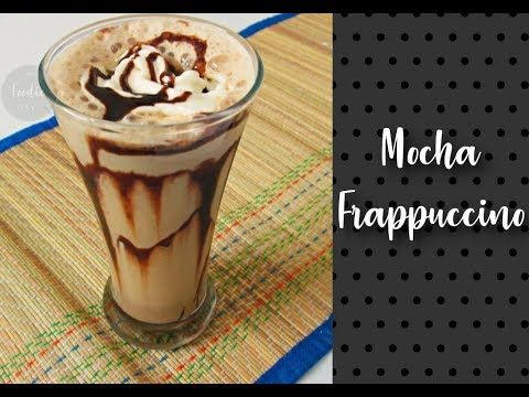 Mocha Frappuccino | Starbucks style frappuccino | Iced Coffee Recipe by Foodie-days