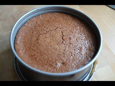 Chocolate Cake - How to make a creamy chocolate mousse cake
