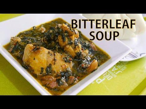 Oyinbo Cooking: BITTERLEAF SOUP