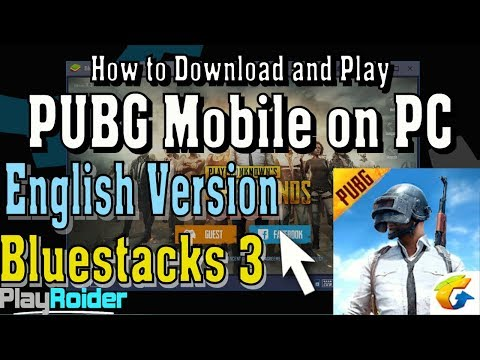 How to Download PUBG Mobile English on PC Bluestacks 3 (Fully Working)