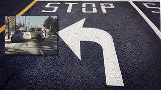 Accidentes de vuelta en izquierda en Los Angeles | LA abogado de accidentes automoviles