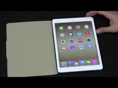 Acase iPad Air TipTop Ultra Slim Leather Case Review