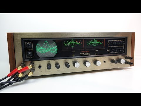 Rare Vintage HiFi: Pioneer SD-1000 Stereo Display Scope