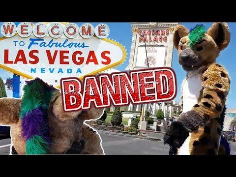 Furry Vegas Fails (My Fursuit Got BANNED)