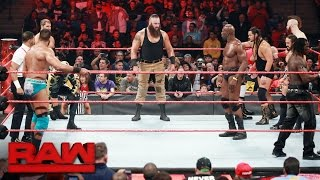 Battle Royal to earn a spot on the Raw Men