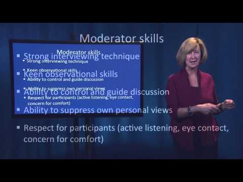 Fundamentals of Qualitative Research Methods: Focus Groups (Module 4)