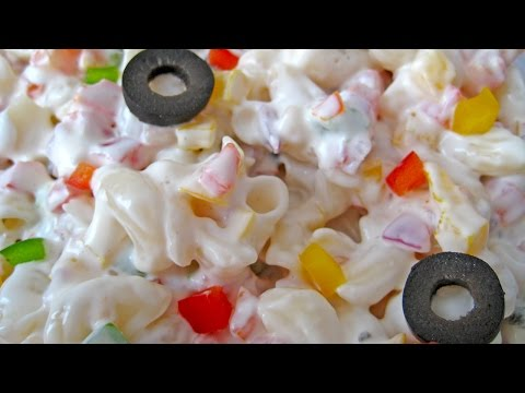 Creamy Pasta Salad Recipe From Italian Cuisine By Sameer Goyal @ ekunji.com