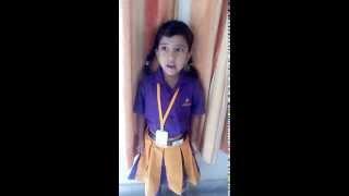 Child speech on Mahatma Gandhi by nishkka