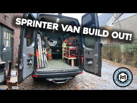 Sprinter Van Build Out! (Super Organized)