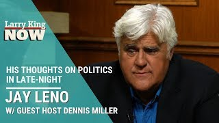 Jay Leno Gives His Thoughts On Politics In Late-Night