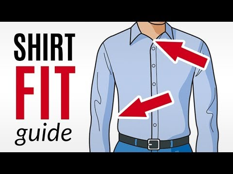 How a Dress Shirt Should Fit | A Visual Guide