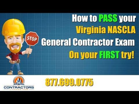 Virginia General Contractor Exam Prep Course 🔨 🔨