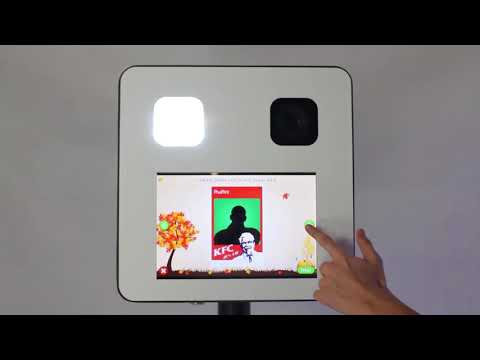Latest Products  D-mini Series Pad Selfie Photo Booth With Flight Case