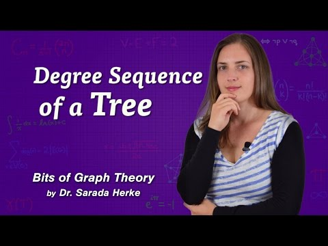 Graph Theory: 44. Degree Sequence of a Tree