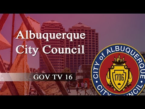 Albuquerque City Council Meeting, January 17, 2018, Part One